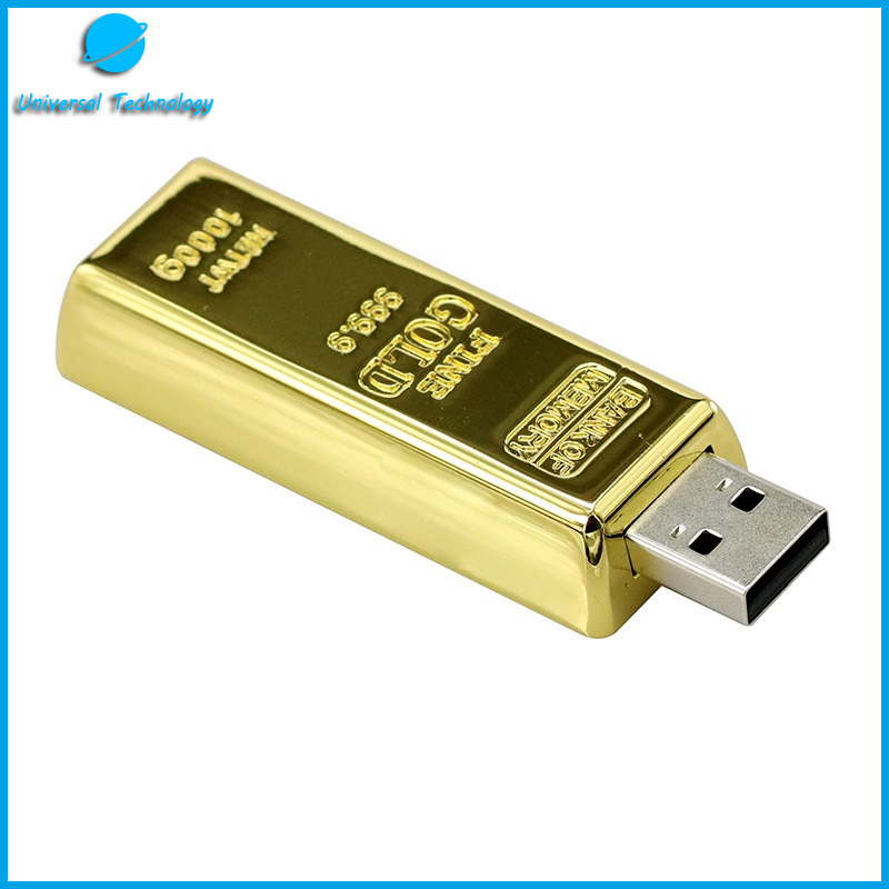 【UNT-U02】Gold bar usb flash drive