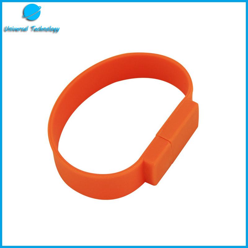 【UNT-U08】Business wristband with USB Flash Drive