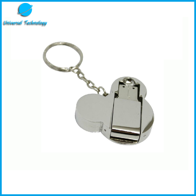 【UNT-U15】Metal cartoon USB flash drive