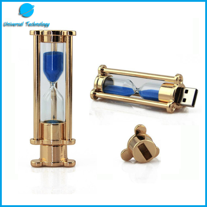 【UNT-U24】Fashion hourglass usb flash drive