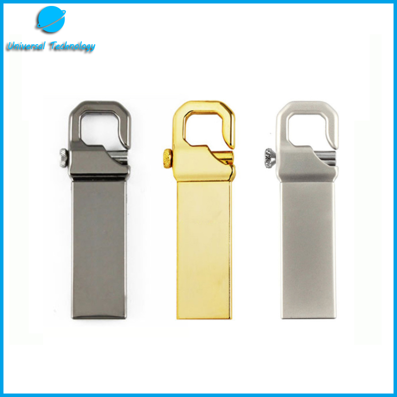 【UNT-U28】Metal key clasp usb flash drive