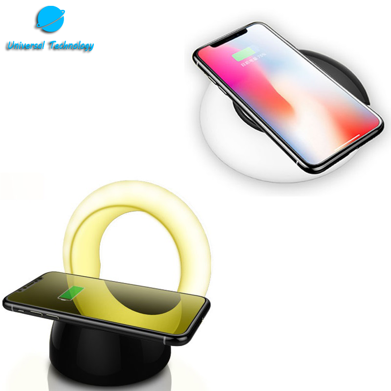 【UNT-WPC24】Wireless charger with LED night lights
