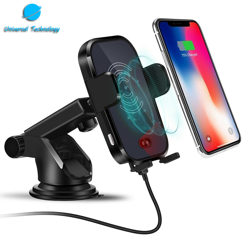 【UNT-WPC17】Automatic induction Wireless Car Mount Charger