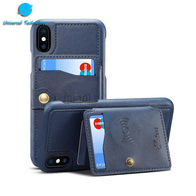 【UNT-CP12】 Leather phone case with card bag