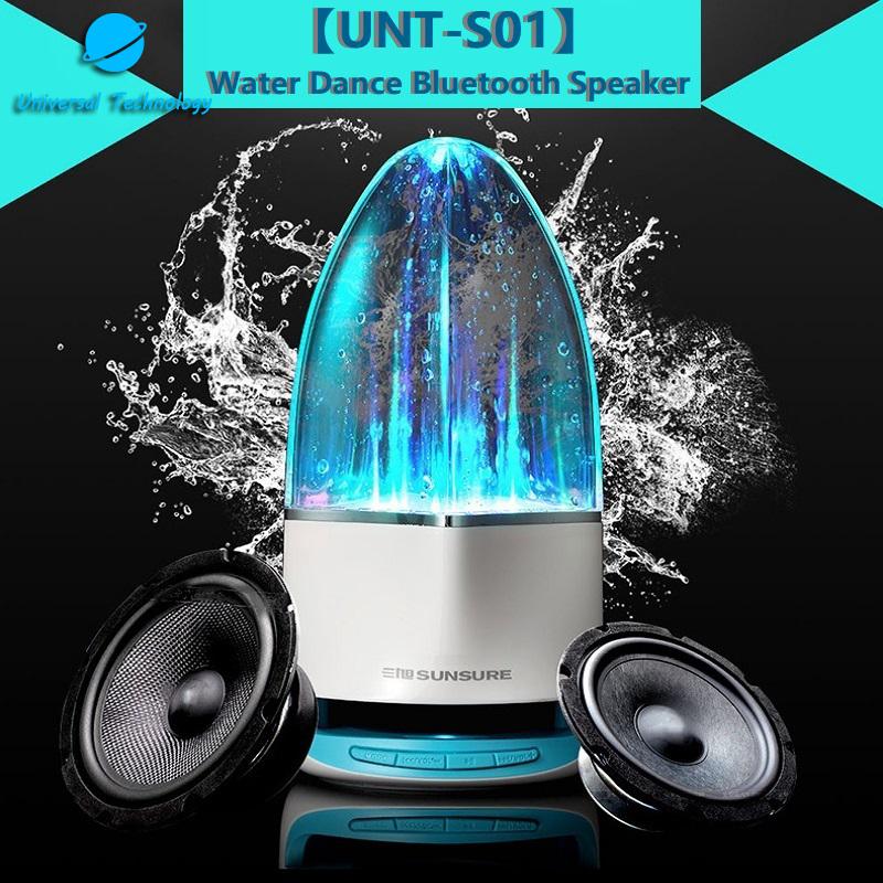 【UNT-S01】Water dance bluetooth speaker