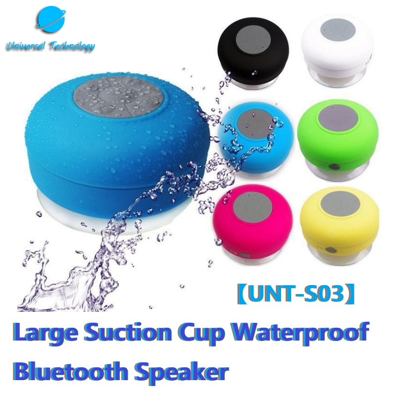 【UNT-S03】Suction cup bluetooth speaker