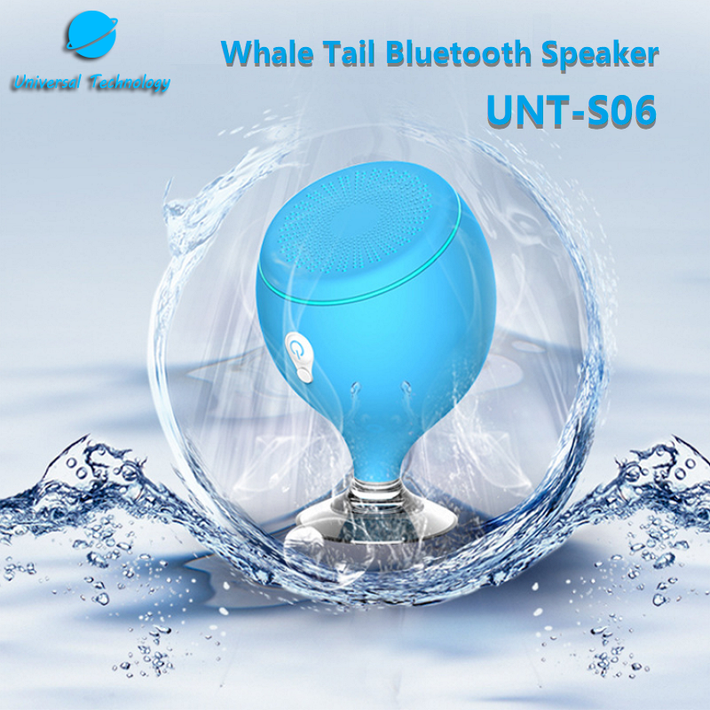 【UNT-S06】Whale Tail Bluetooth Speaker