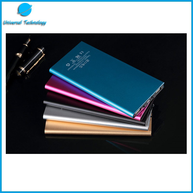 【UNT-P02】Ultra-thin metal notebook style power bank