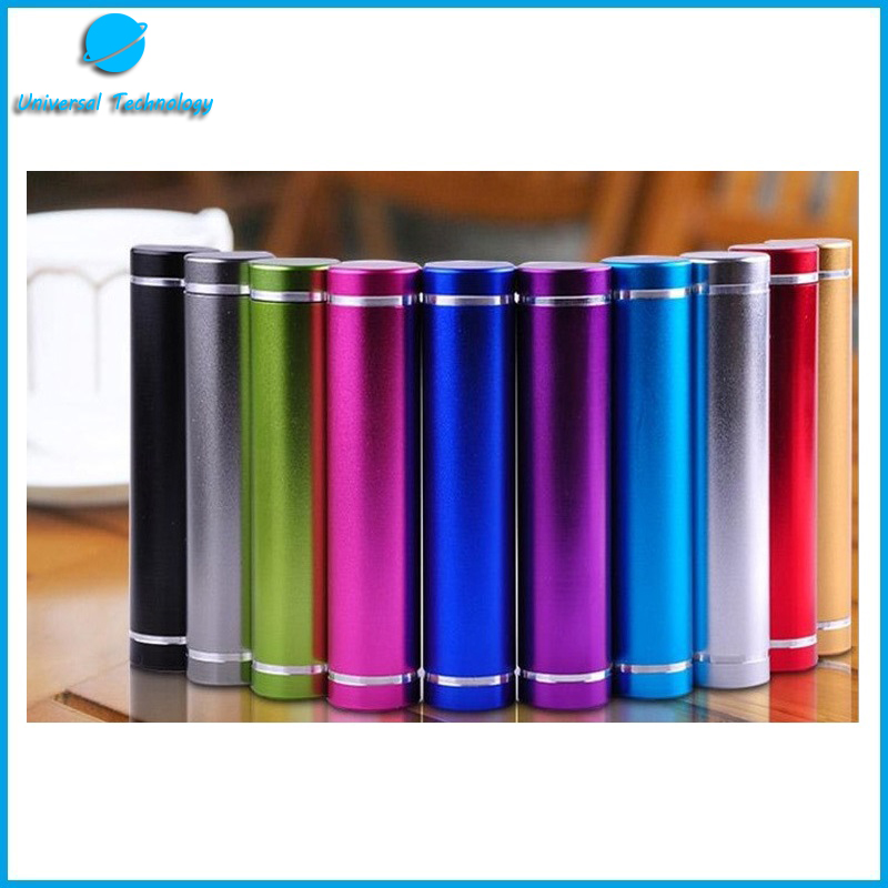 【UNT-P09】800-2600 Mah cylindrical metal mobile power Bank
