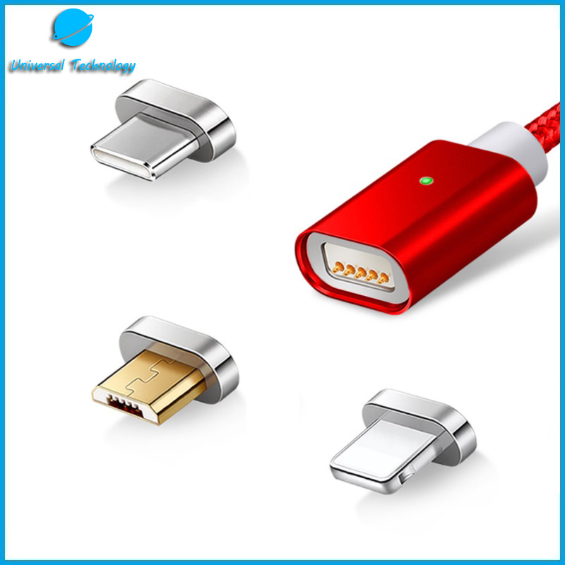 【UNT-C04】3 in 1 magnetic USB cable