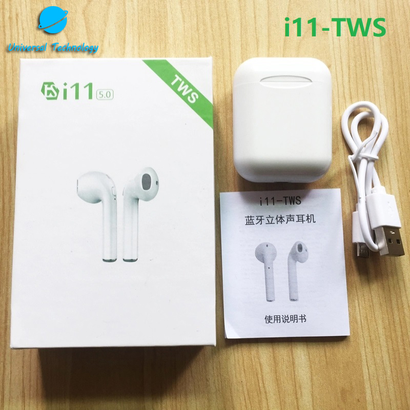 【UNT-i11】2019 New True Stereo Headphones Mini Bluetooth 5.0