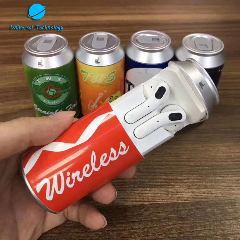 【UNT-H35T】POP CAN TWS Earbuds with charging box